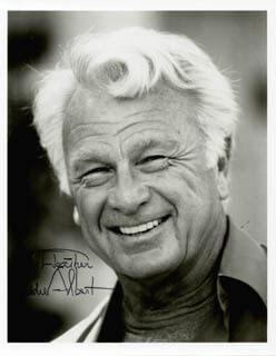 EDDIE ALBERT - AUTOGRAPHED INSCRIBED PHOTOGRAPH