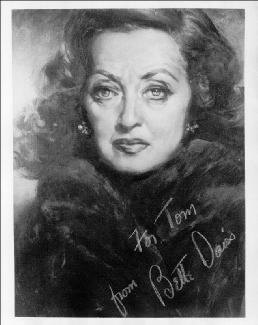 BETTE DAVIS - AUTOGRAPHED INSCRIBED PHOTOGRAPH