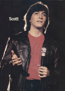SCOTT BAIO - MAGAZINE PHOTOGRAPH SIGNED