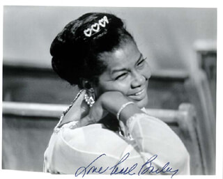PEARL BAILEY - AUTOGRAPHED SIGNED PHOTOGRAPH  - HFSID 37261