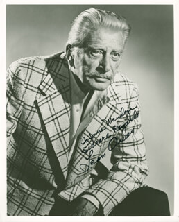 LEON AMES - AUTOGRAPHED INSCRIBED PHOTOGRAPH