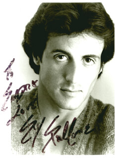 SYLVESTER STALLONE - AUTOGRAPHED INSCRIBED PHOTOGRAPH