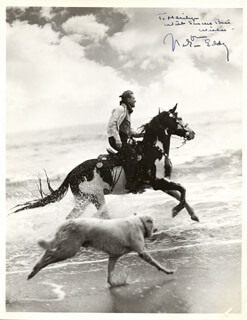 NELSON EDDY - AUTOGRAPHED INSCRIBED PHOTOGRAPH