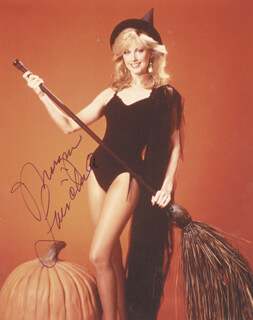 MORGAN FAIRCHILD - AUTOGRAPHED SIGNED PHOTOGRAPH