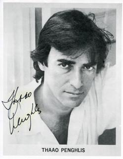 THAAO PENGHLIS - PRINTED PHOTOGRAPH SIGNED IN INK