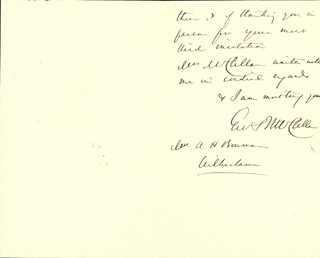 MAJOR GENERAL GEORGE B. MCCLELLAN - AUTOGRAPH LETTER SIGNED 6/22