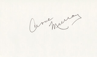 ANNE MURRAY - AUTOGRAPH