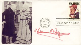 KEENAN WYNN - FIRST DAY COVER SIGNED