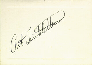 ART LINKLETTER - AUTOGRAPH