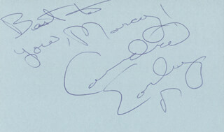 CANDICE EARLEY - AUTOGRAPH NOTE SIGNED