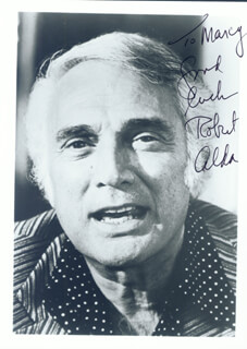 ROBERT ALDA - AUTOGRAPHED INSCRIBED PHOTOGRAPH