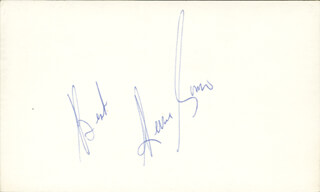 PERRY COMO - AUTOGRAPH SENTIMENT SIGNED