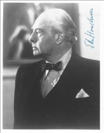 JOHN HOUSEMAN - AUTOGRAPHED SIGNED PHOTOGRAPH