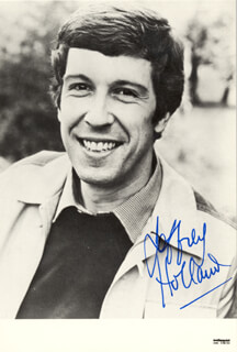 JEFFREY HOLLAND - AUTOGRAPHED SIGNED PHOTOGRAPH