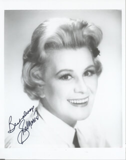 ROSE MARIE - AUTOGRAPHED SIGNED PHOTOGRAPH