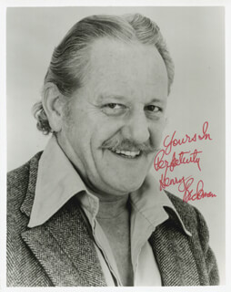 HENRY BECKMAN - AUTOGRAPHED SIGNED PHOTOGRAPH