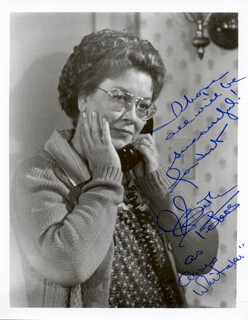 BETH PETERS - AUTOGRAPHED SIGNED PHOTOGRAPH