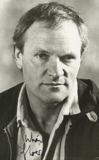 JULIAN GLOVER - AUTOGRAPHED SIGNED PHOTOGRAPH