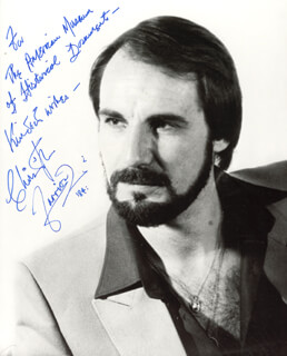 CHRISTOPHER FARRIES - AUTOGRAPHED INSCRIBED PHOTOGRAPH 1984