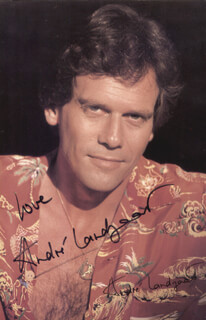 ANDRE LANDZAAT - AUTOGRAPHED SIGNED PHOTOGRAPH