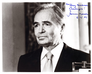 JAMES MASON - AUTOGRAPHED INSCRIBED PHOTOGRAPH 06/15/1983