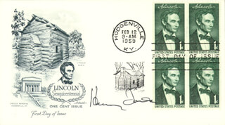 HENRY FONDA - FIRST DAY COVER SIGNED