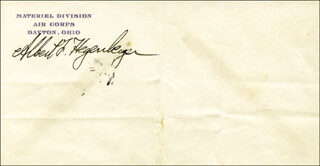 ALBERT HEGENBERGER - ENVELOPE SIGNED