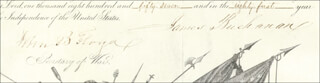 Autographs: PRESIDENT JAMES BUCHANAN - MILITARY APPOINTMENT SIGNED 03/05/1857 CO-SIGNED BY: GENERAL SAMUEL COOPER, JOHN B. FLOYD