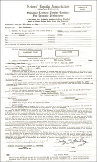 ROY STEINBERG - CONTRACT SIGNED 05/12/1978