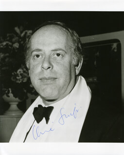 CLIVE SWIFT - AUTOGRAPHED SIGNED PHOTOGRAPH