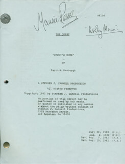 MAURICE ROEVES - SCRIPT SIGNED