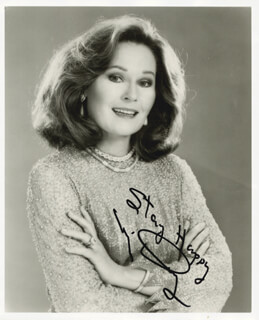 MARJ DUSAY - AUTOGRAPHED SIGNED PHOTOGRAPH