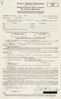 PAGE JOHNSON - DOCUMENT SIGNED 03/09/1971