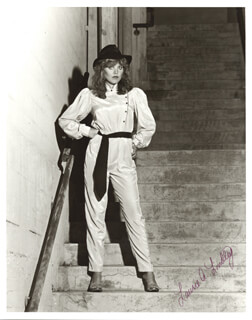 LAURIE LINDLEY - AUTOGRAPHED SIGNED PHOTOGRAPH
