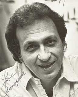 GENE CHRONOPOULOS - AUTOGRAPHED SIGNED PHOTOGRAPH
