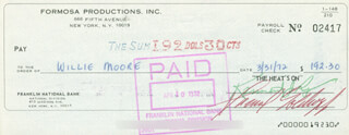SAMUEL GOLDWYN JR. - AUTOGRAPHED SIGNED CHECK 03/31/1972
