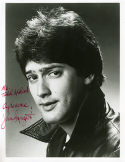 JOHN MENGATTI - AUTOGRAPHED INSCRIBED PHOTOGRAPH