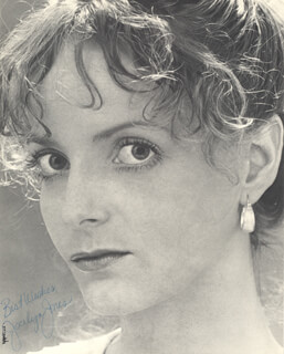 JOCELYN JONES - AUTOGRAPHED SIGNED PHOTOGRAPH