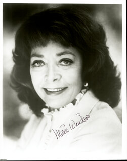 MARIE WINDSOR - AUTOGRAPHED SIGNED PHOTOGRAPH