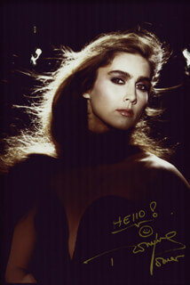 ROMINA POWER - AUTOGRAPHED SIGNED PHOTOGRAPH