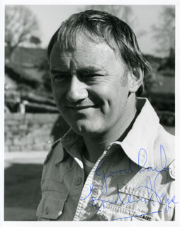 FREDERICK PYNE - AUTOGRAPHED SIGNED PHOTOGRAPH