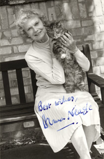 ANNA NEAGLE - AUTOGRAPHED SIGNED PHOTOGRAPH