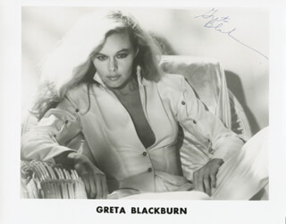 GRETA BLACKBURN - AUTOGRAPHED SIGNED PHOTOGRAPH