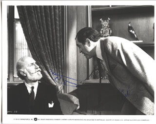 JUST TELL ME WHAT YOU WANT MOVIE CAST - AUTOGRAPHED SIGNED PHOTOGRAPH CO-SIGNED BY: ALAN KING, KEENAN WYNN