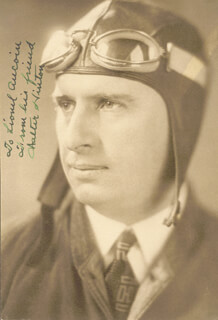 WALTER HINTON - AUTOGRAPHED INSCRIBED PHOTOGRAPH