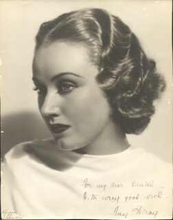 FAY WRAY - AUTOGRAPHED INSCRIBED PHOTOGRAPH