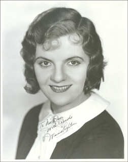 WINNIE LIGHTNER - AUTOGRAPHED INSCRIBED PHOTOGRAPH