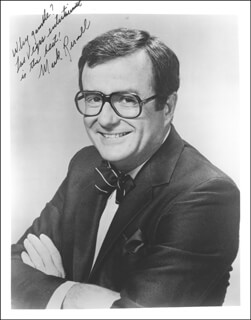 MARK RUSSELL - AUTOGRAPHED SIGNED PHOTOGRAPH