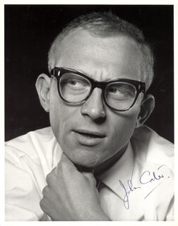 JOHN CATER - AUTOGRAPHED SIGNED PHOTOGRAPH