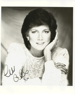 CILLA BLACK - AUTOGRAPHED SIGNED PHOTOGRAPH